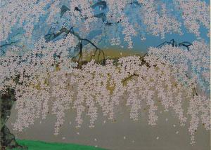 神田の大糸桜 2008