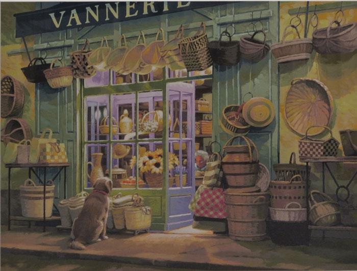 手作り籠の店