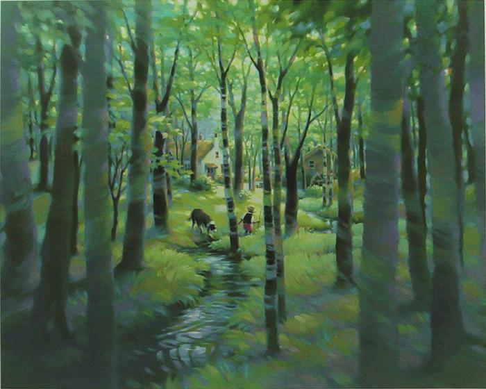 森の向こう
