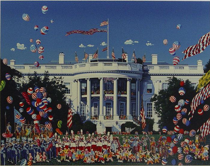 ホワイトハウス設立200周年