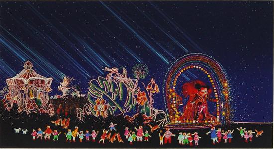 夜のファンタジーパレード