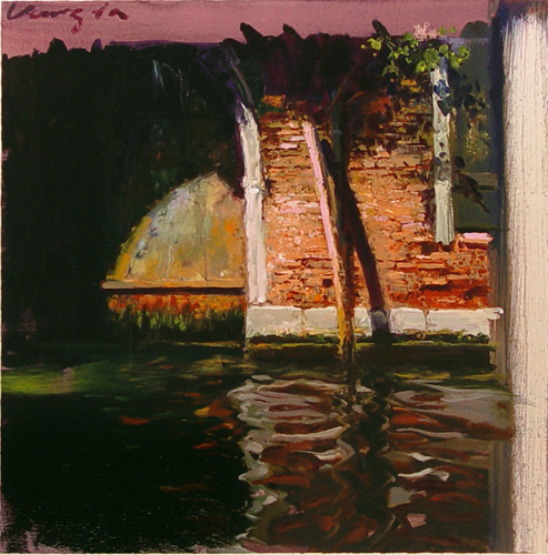 ヴェニスの運河